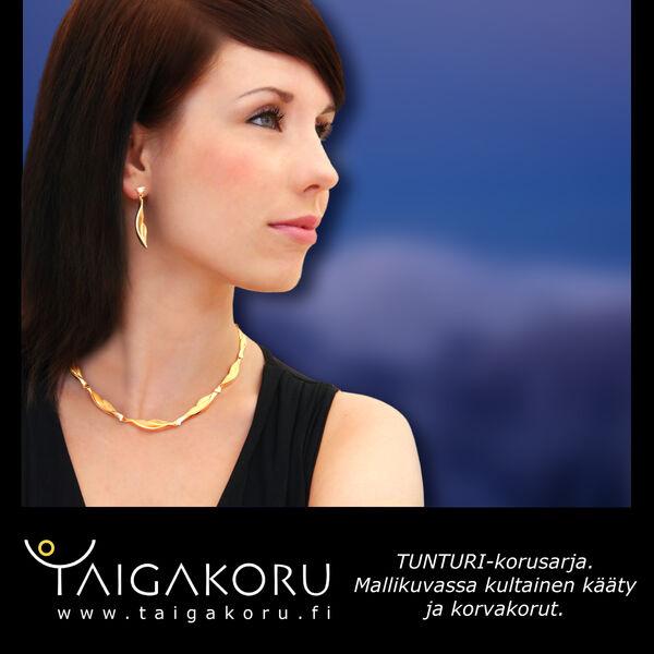 Kultainen sormus - Tunturi - Taigakoru  b11f581f11